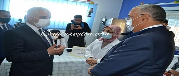 فيديو وصور..وزير الصحة يشيد بالوالي الجامعي والاطر الصحية بوجدة