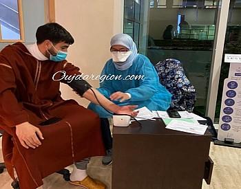 وجدة..تجاوب انساني للاطباء المقيمين مع نداءات التبرع بالدم
