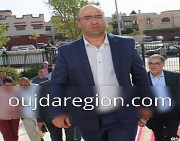 هشام الصغير يعزي عائلة ديب مدير اكاديمية جهة الشرق