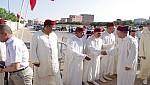 والي الجهة الشرقية يؤدي صلاة عيد الفطر بمصلى سيدي يحي بوجدة