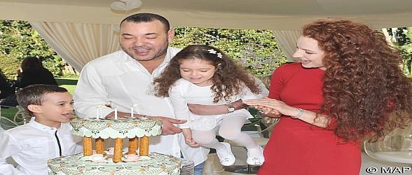 الشعب المغربي يحتفي يوم السبت بالذكرى الثامنة لميلاد صاحبة السمو الملكي الأميرة للا خديجة