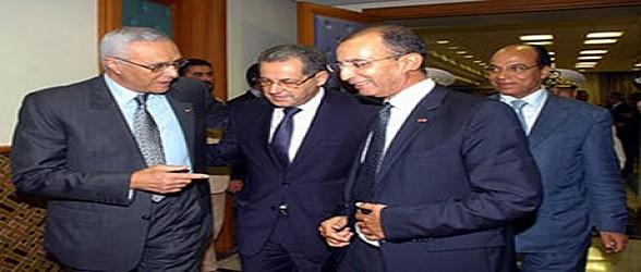 تنصيب عبد اللطيف الحموشي الذي عينه صاحب الجلالة الملك محمد السادس مديرا عاما للأمن الوطني