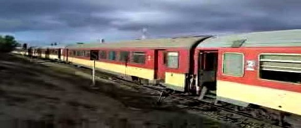 تاوريرت: قطار  يبتر رجلي شاب
