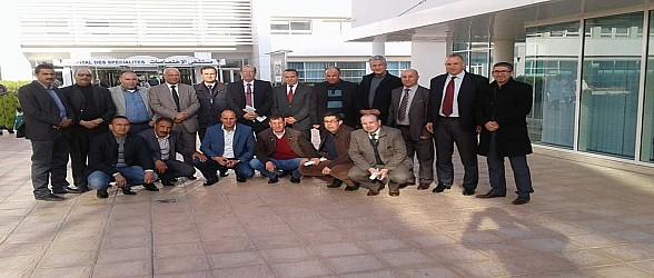 الوالي مهيدية يشرف على توقيع اتفاقية شراكة بين المجلسين الاقليميين لتاوريرت و وجدة