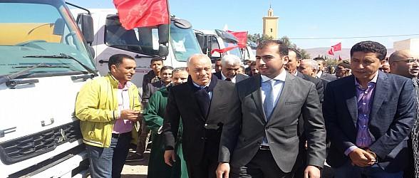 البرلماني يوسف هوار يشارك في اطلاق مشاربع الخير والنماء بإقليم عمالة وجدة أنجاد