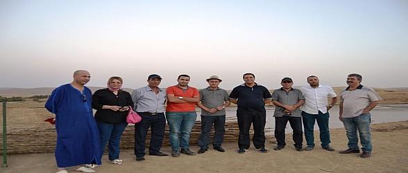 بلاغ صحفي…الكاتب العام لولاية جهة الشرق يرأس زيارة عمل إلى مركز معالجة وتثمين النفايات الصلبة