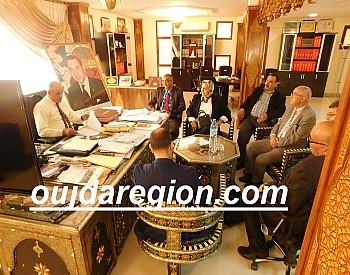 صور..بوجوالة يعقد جلسة عمل مع جمعية باب الرزق للقروض الصغرى