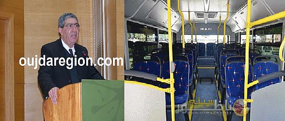 لأورة مرة بافريقيا..لمرابط يدخل حافلات بكميرات المراقبة والمكيف والويفي