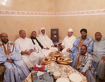صور…العلامة بنحمزة بقلب الصحراء المغربية