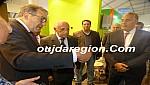 صوت وصورة..المريني مؤرخ المملكة يزور المعرض المغاربي بوجدة ويحضر تكريم ثريا الشاوي