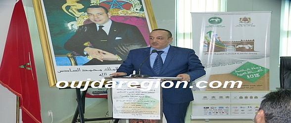 بركان…الاعرج وزير الثقافة والاتصال يتفقد رفقة العامل حبوها ورش دار الثقافة