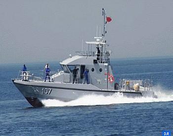 سواحل الناظور..البحرية الملكية تقدم المساعدة لـ 165 مرشحا للهجرة السرية(مصدر عسكري)