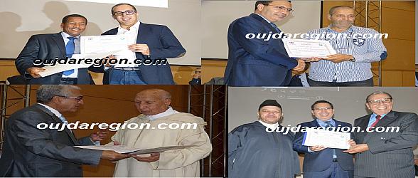 صوت وصورة..تكريم فعاليات جمعوية بوجدة مسك اختتام احتفالية وجدة عاصمة المجتمع المدني المغربي