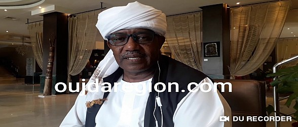 تصريح..لحظة تسلمه المشعل من وجدة..ممثل دولة السودان يشيد بجهود الملك محمد السادس في الارتقاء بالثقافة العربية