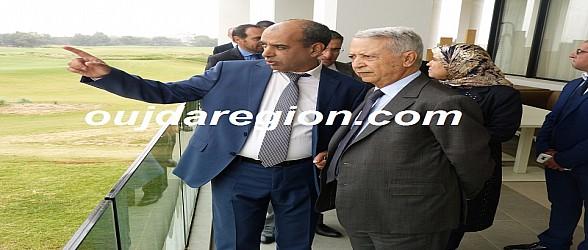 صوت وصور..ساجد وزير السياحة يتباحث بالسعيدية سبل تمديد فترة العمل وهذا ما صرح به