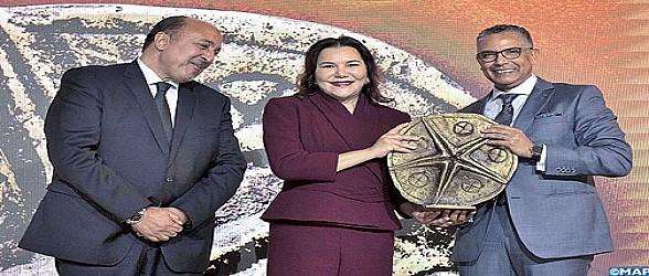 الأميرة للا حسناء تتوج شاطئ السعيدية بجائزة للا حسناء للساحل المستدام