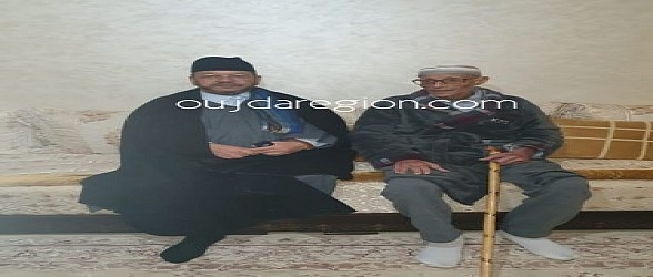 العلامة بنحمزة وكرة القدم..زيارة اطمئنان على صحة فرنان بلخير قيدوم المولودية