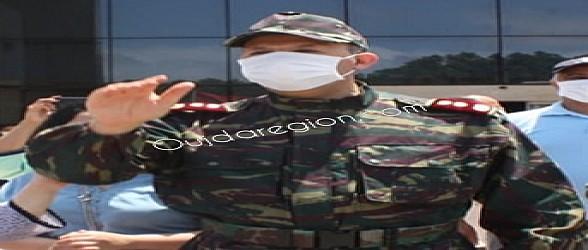الكولونيل سعد العمراني يودع بركان بعد شفاء جميع الحالات