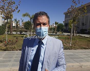 تعزية الى البروفيسور الداودي مدير المستشفى الجامعي بوجدة