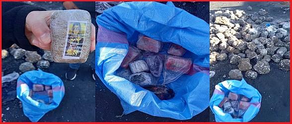 الناظور…ضبط تهريب 2 طن من الشيرا في الحجارة المعدنية