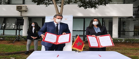 أخنوش وفتاح العلوي يوقعان اتفاقيات تتعلق بالبرنامج الوطني لإحداث جيل جديد من التعاونيات الفلاحية