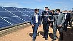 مبروك عامل جرادة يطلق ويدشن مشاريع تقوية العالم القروي بالماء الشروب بالطاقة الشمسية