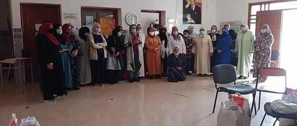"""بركان..جمعية """"امي"""" تفرح الارامل والمعوزين في شهر رمضان"""