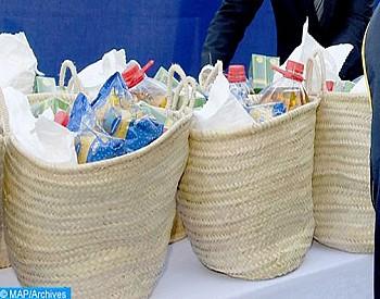 وجدة…توزيع 10000 قفة في شهر رمضان