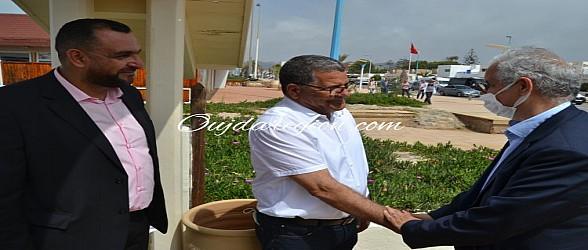 نزار بركة يشيد ببنمومن ويدعمه لرئاسة السعيدية