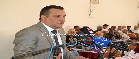 خالد السبيع يكشف أمام الامين العام للاستقلال المشاكل والتحديات باقليم تاوريرت