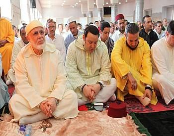مشيخة القادرية البودشيشية تحتفل بعيد الأضحى عن بعد