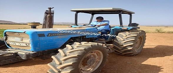 فلاح بوجدة يفتح مئات مناصب الشغل ويحول منطقة منكوبة الى أراضي منتجة