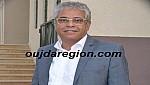 زغلول رئيس جامعة وجدة يهنىء جلالة الملك