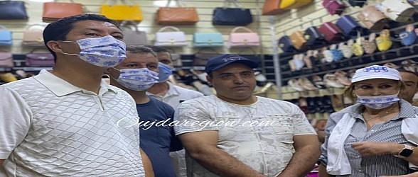 شاهد استقبال ساكنة وجدة لبيوي بأسواق لمدينة