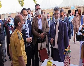 صور..الدكتور منير البودشيشي ورئيس عمالة بركان يفتتحان القرية التضامنية بمداغ
